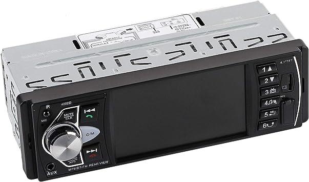 Keenso 4 1 Zoll Tft Hd Auto Mp5 Player Bluetooth Autoradio Fm Radio Das Fm Radio Aux Tf Usb Fernbedienung Keine Kamera Auto
