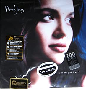 "Norah Jones "" Come Away With Me "" REMASTERED 200 Gram Vinyl Record Album LP"