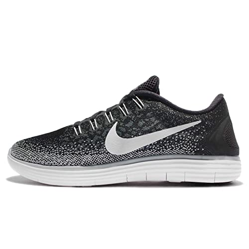 best service a0949 7b7b4 Image Unavailable. Image not available for. Color  Nike Womens Free RN  Distance Running Shoe Black White Dark Grey Wlf Grey