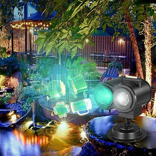 Godyluck Proyección de luz Animada Proyector Led Control Remoto ...