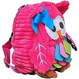 Owl 3D Toddler Backpack Little Kid Backpack Cute Soft Child Backpack Infant Backpack Snack Backpack