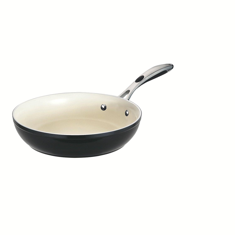 """Tramontina 80110/020DS Fry Pan, 12"""", Metallic Black"""
