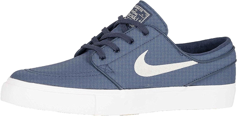 profundizar posterior natural  Nike SB Zoom Stefan Janoski Ski Dark Blue Canvas Shoes Blue Size: 7.5 UK:  Amazon.co.uk: Shoes & Bags