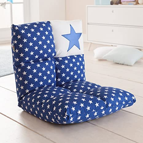 howa ® 2 in 1 Kinderstoel en -bank blauw - Blauw: Amazon.es ...