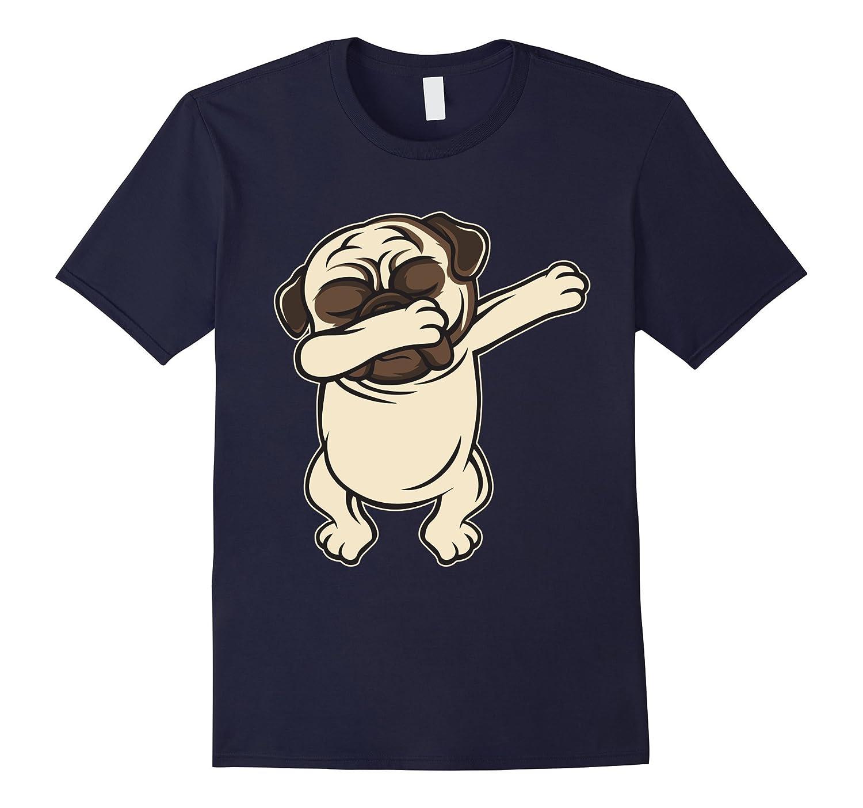 Funny Pug Dab Shirt - Dabbing Pug - Pug Dabbing TShirt-Vaci