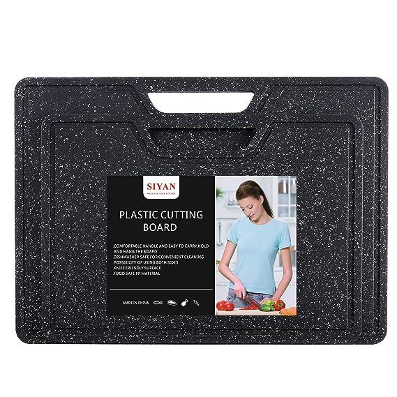 Amazon.com: Juego de tablas de cortar de plástico para ...