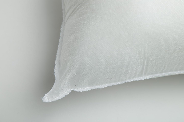 "Foamily Set of 4-18 x 18 Premium Hypoallergenic Stuffer Pillow Inserts Sham Square Form Polyester, 18"" L X 18"" W, Standard/White: Home & Kitchen"