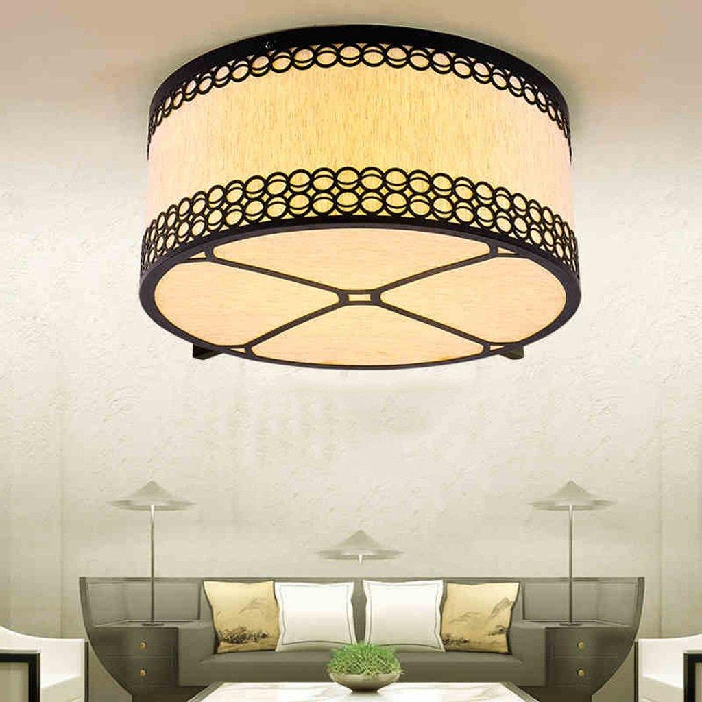 MEILING Innenleuchten Schlafzimmer Leuchten Stoff Deckenleuchte Kreative Warm Cafe Leuchten Zimmerleuchten ( größe : 40 cm )
