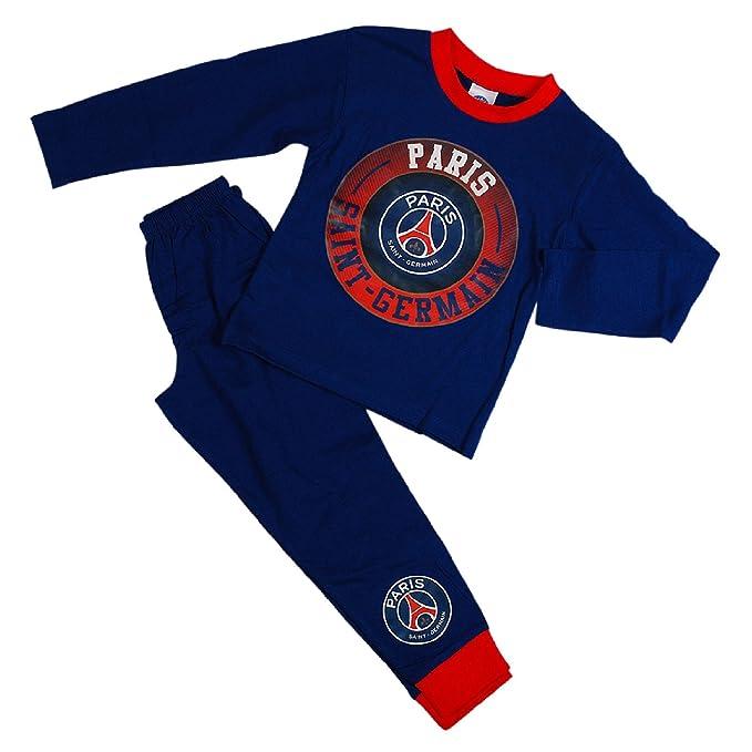 Paris Saint Germain - Pijama dos piezas - para niño Azul azul 9-10 Años