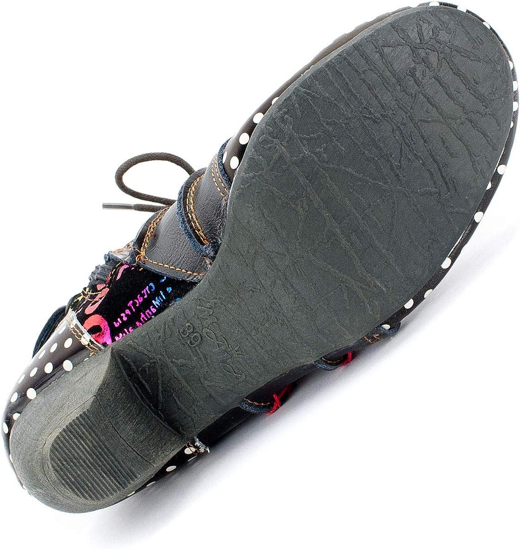 Tama/ños 36-42 EU Cuero TMA Bizarre 8979 Zapatos para Mujer Colores m/últiples