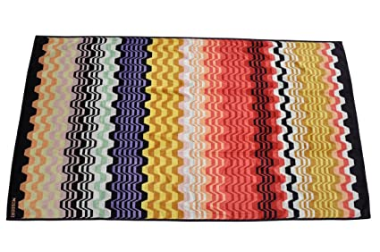 Missoni Toalla Towel Telo Mare servilleta toalla 180 x 100 cm – Naranja Label