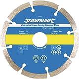 Silverline 394979 - Disco de corte diamantado para piedra y hormigón 115 x 22,2 mm