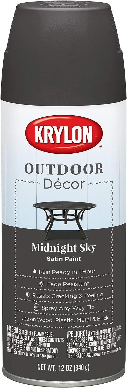 Krylon K09324000 Outdoor Décor Spray Paint, Midnight Sky