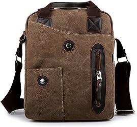 997c9f9a1201 MANJIANGHONG Korean men s shoulder slung fashion casual canvas men s bag ...