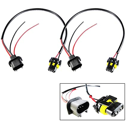Amazon.com: Xotic Tech 9006 HB4 To H13 Conversion Wire Wiring ... on h13 hid wiring, h13 plug harness, hid kit headlight harness,