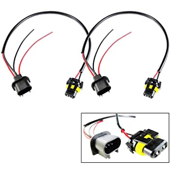 Amazon.com: Xotic Tech 9006 HB4 To H13 Conversion Wire ... on