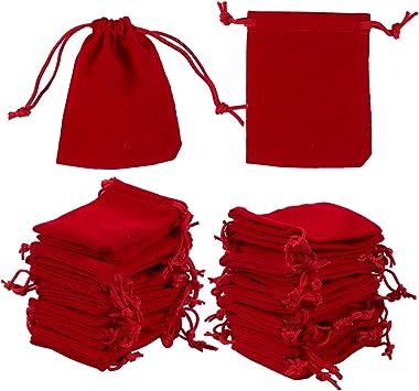 Amazon.com: Juvale 50-Piece bolsa para joyas bolsas de ...