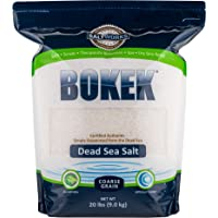 Bokek Dead Sea Salt, Coarse Coarse 20 lb Bag Coarse