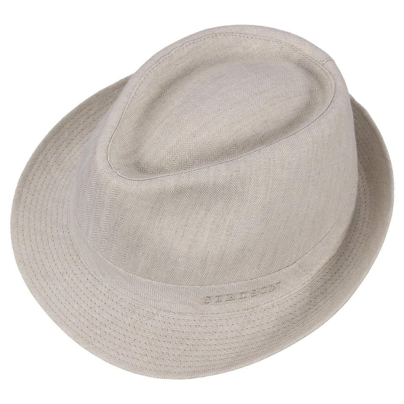 61a27804c3076 Stetson Osceola Trilby Linen Hat Women Men at Amazon Men s Clothing store