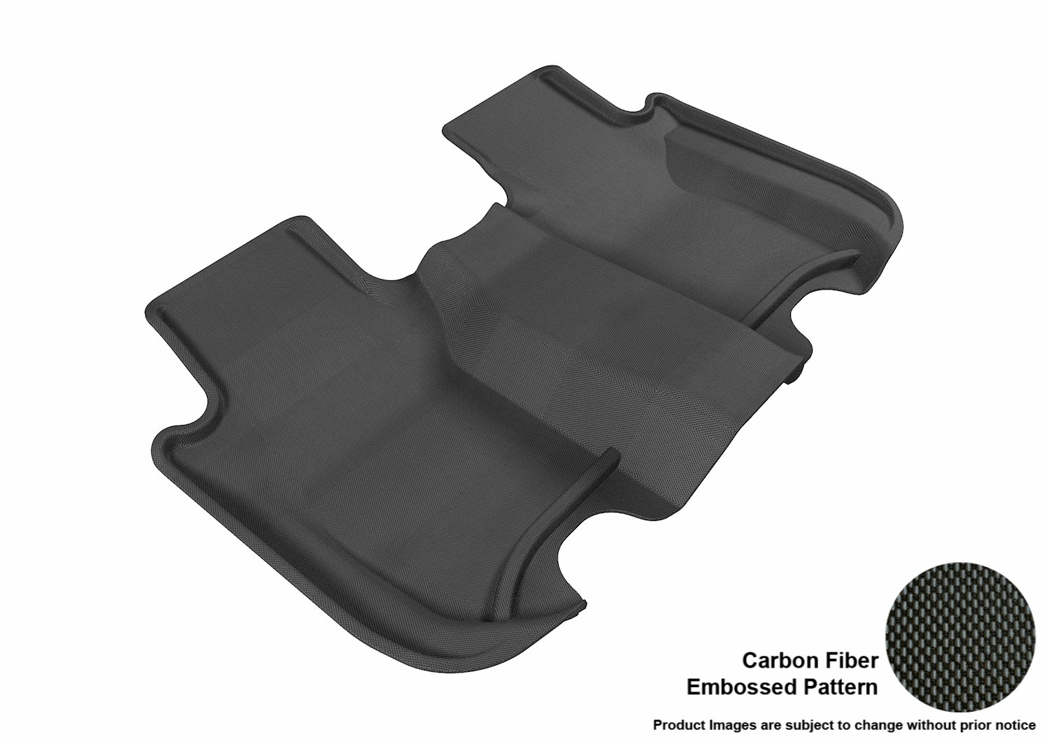 Lund 672649 Catch-All Premium Black Carpet Center Hump Floor Mat