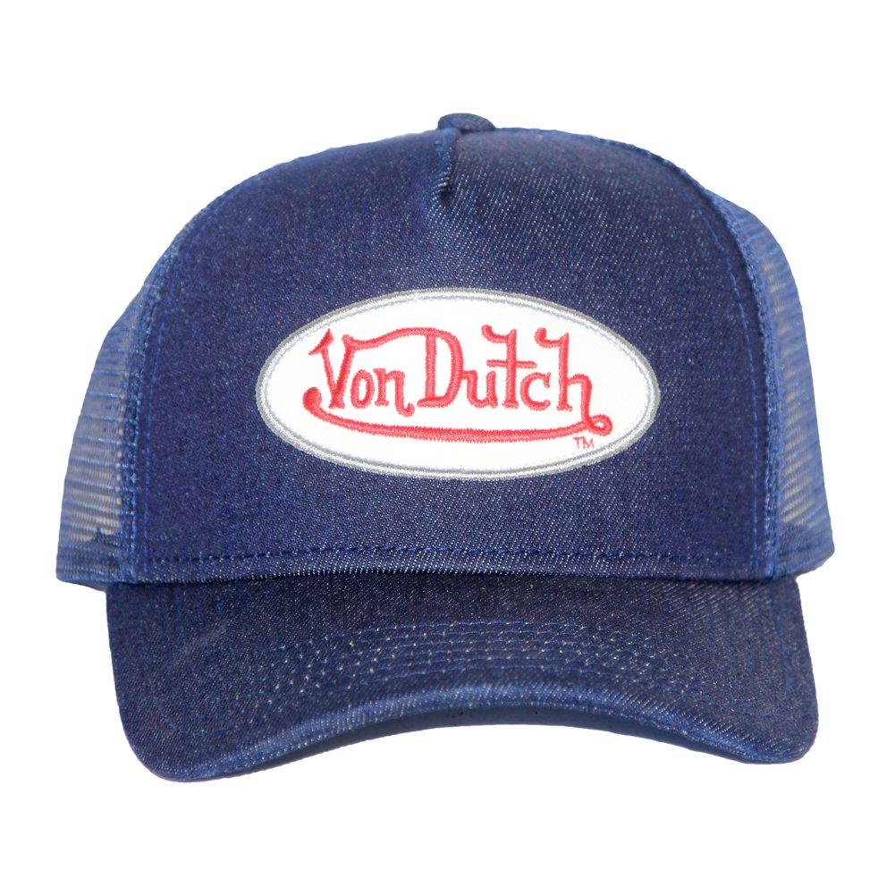 80d64f5536822 Von Dutch Originals Unisex-Adult Trucker Hat One Size Navy at Amazon Men s  Clothing store
