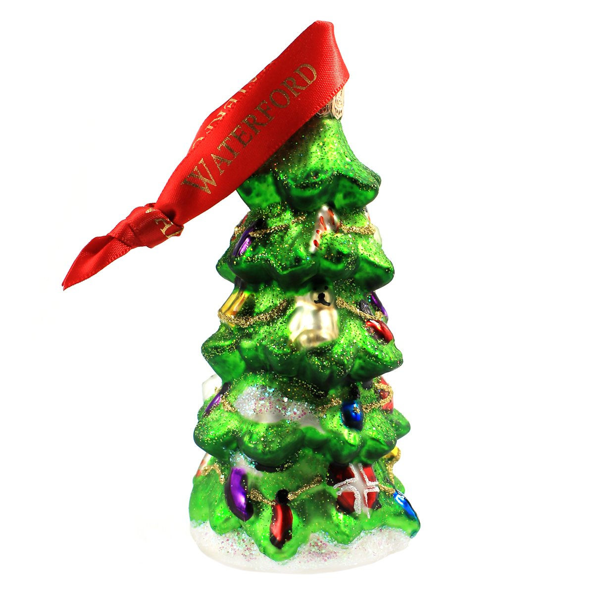 Amazon.com: Waterford Holiday Heirlooms Decorated Christmas Tree ...