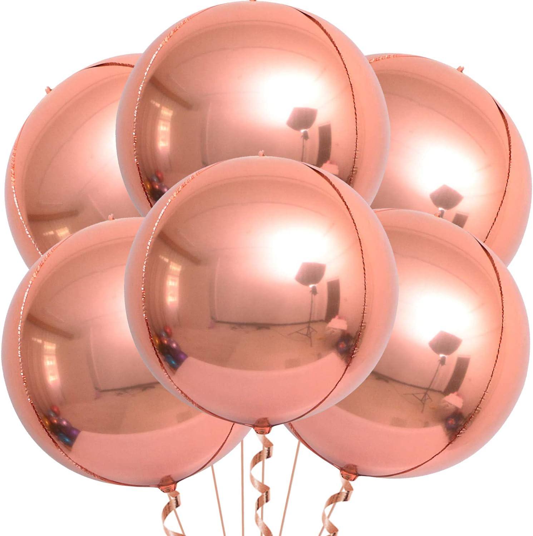 Large Round Blush Balloons Wedding Balloons Giant 36 Blush Balloon Bridal Balloons 36 Jumbo 5 PACK Blush Balloons