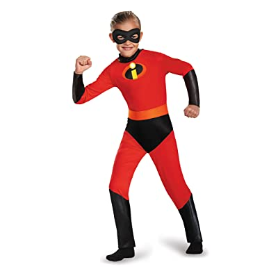Disguise Dash Incredibles Child Costume with Metallic Logo and Detachable Belt: Toys & Games