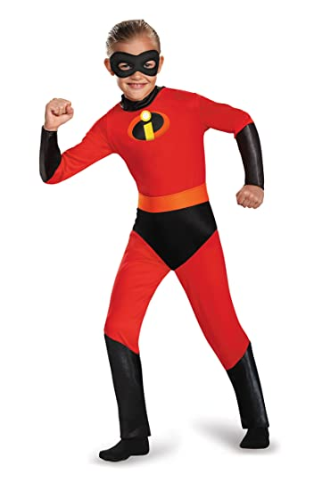 e584d843 Amazon.com: The Incredibles- Mr. Incredible Standard Child Costume: Size  3T-4T: Clothing