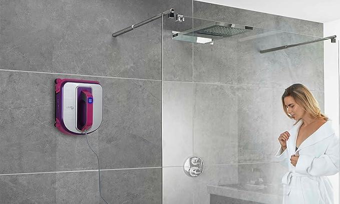 Robot limpiacristales Glass Cleaner Pro automática para la limpieza de ventanas, espejos, paneles solares: Amazon.es: Hogar