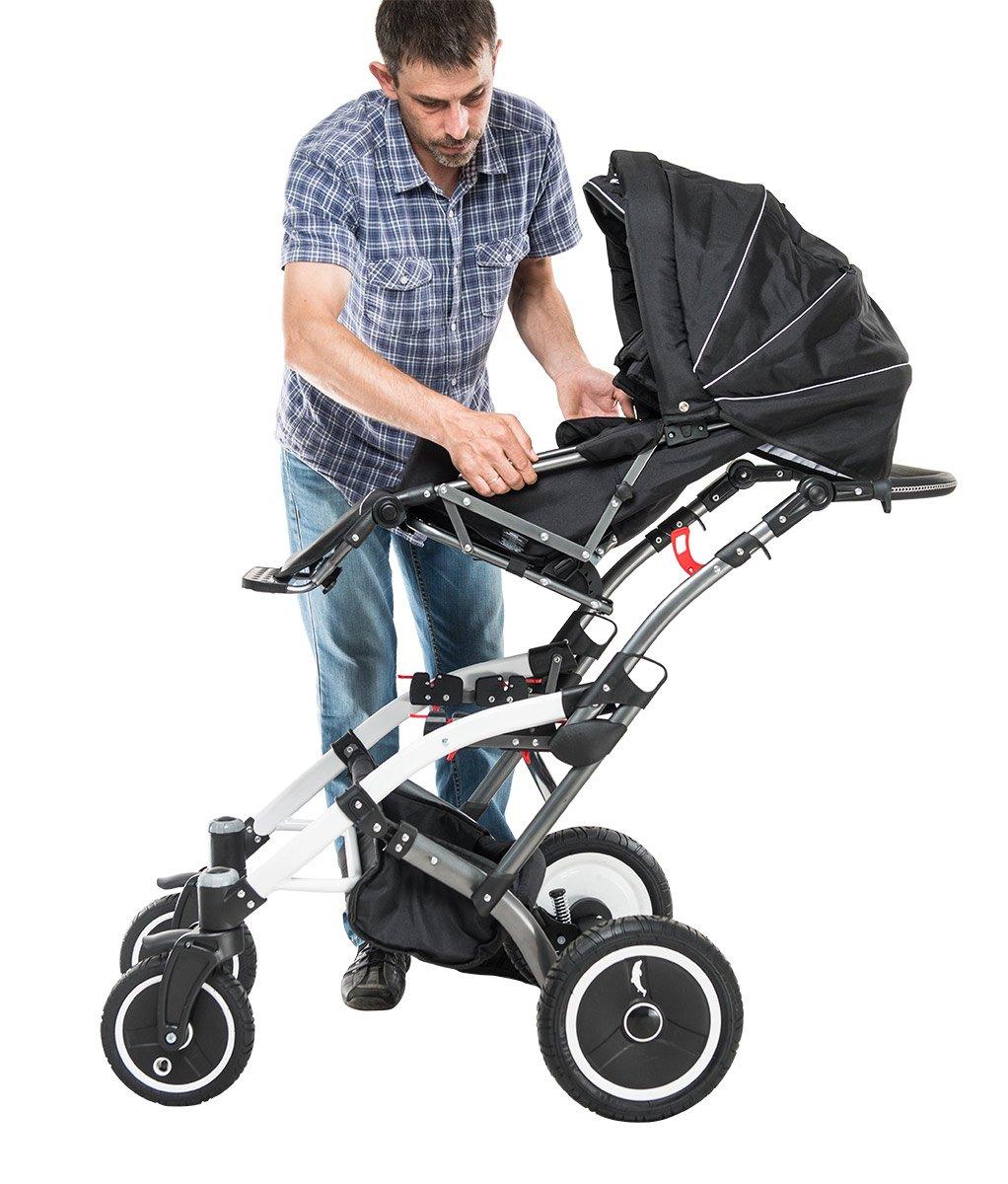 Cochecito para los niños con discapacidades HIPPO Nuevo Tamaño 2: Amazon.es: Bebé