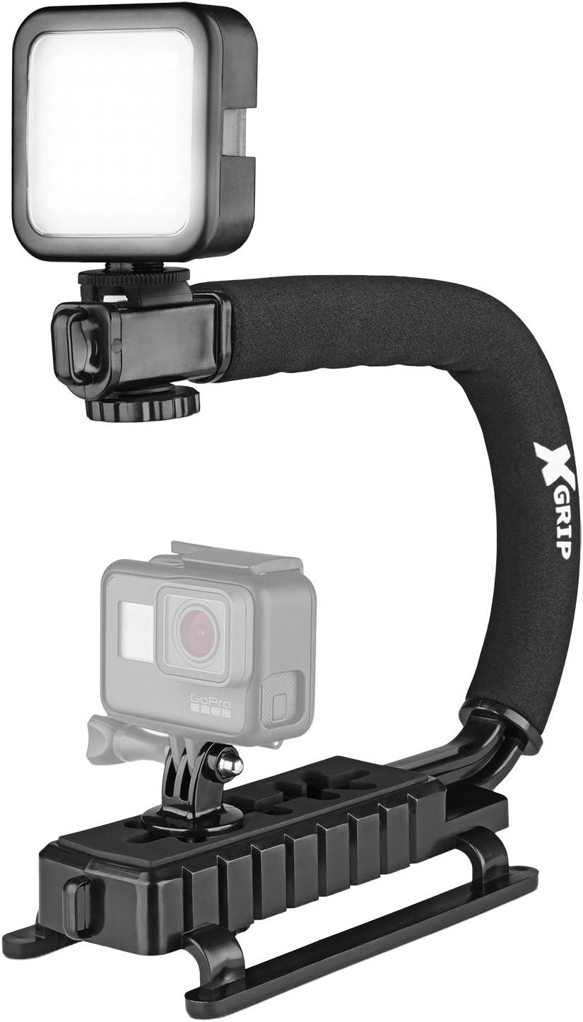 Sony Cyber-Shot DSC-T90 Vertical Shoe Mount Stabilizer Handle Pro Video Stabilizing Handle Grip for
