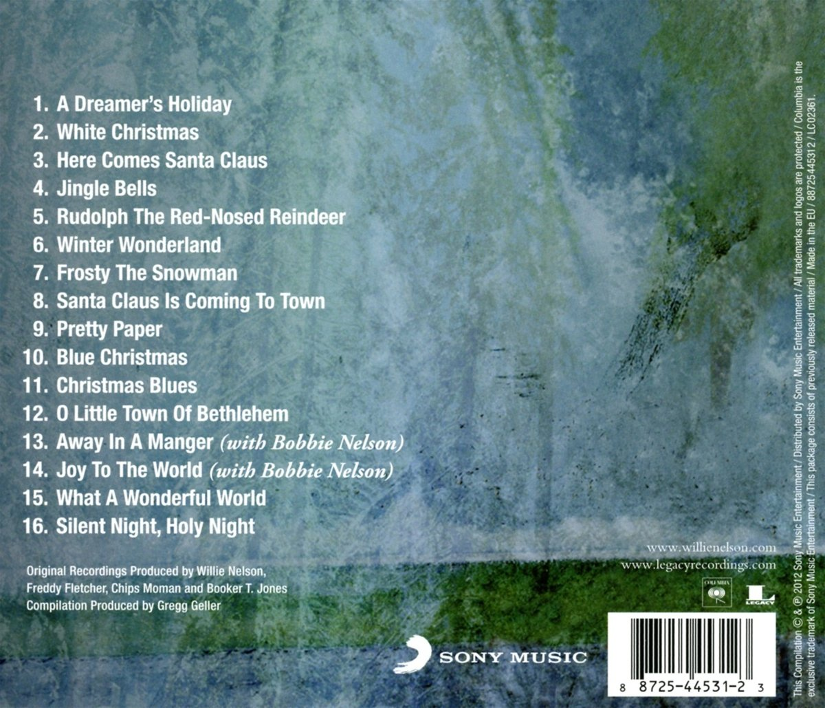 Willie Nelson - The Classic Christmas Album - Amazon.com Music