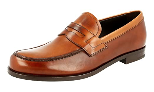 Men's 2DB135 Leather Business Shoes