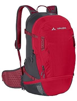 VAUDE Bike Alpin 25+5 Mochila, Unisex Adulto, Rojo (Indian Red/Salsa), 30-39 l: Amazon.es: Deportes y aire libre
