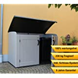 m lltonnenbox f r 3 tonnen zu je 240 liter garten. Black Bedroom Furniture Sets. Home Design Ideas