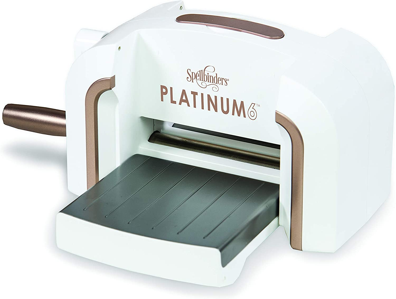 White Spellbinders Platinum 6 Inch Platform Cutting Machine Die
