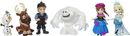 Disney C1118 Little Kingdom - Frozen Friendship Collection - Anna Elsa Kristoff Olaf Sven and Marshmallow