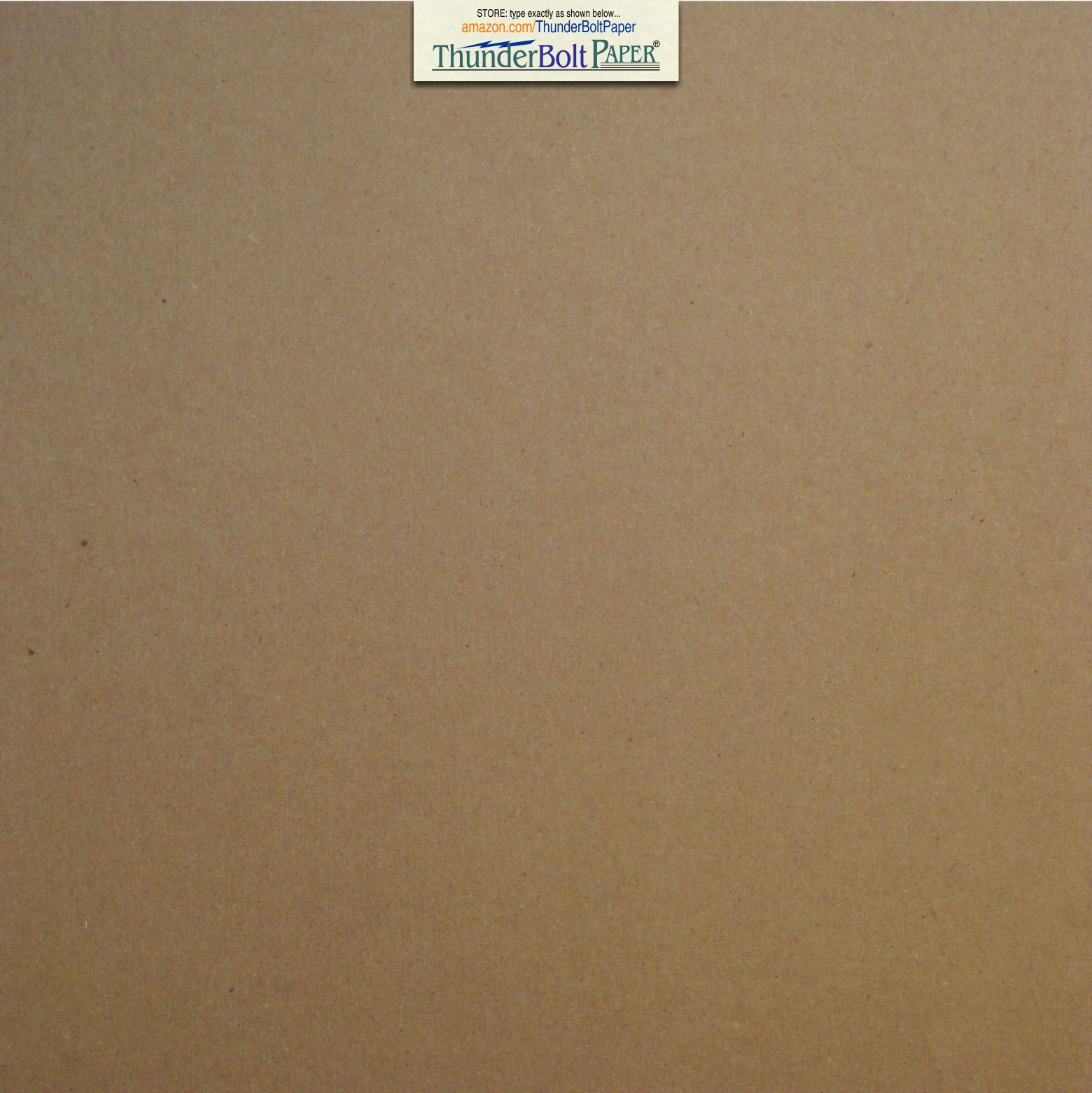 12 Sheets Brown/Gray Chipboard 60 Point Extra Thick 12'' X 12'' (12X12 Inches) Scrapbook Album|Cover Size .060 Caliper Extra X Heavy Cardboard as Thick as 15 Sheets 20# Paper
