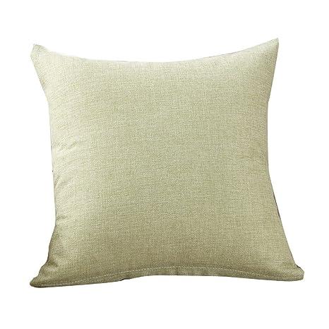 Loolik Fundas de Cojines,Fundas de Almohada de Tiro de Moda Cojín Cubierta Decoración para Home Size 40 x 40 CM (Verde)