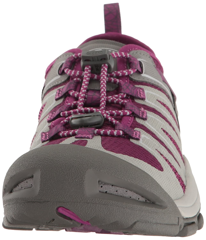 KEEN Women's McKenzie II Hiking Shoe B01H79H7HK 9 B(M) US|Neutral Gray/Dark Purple