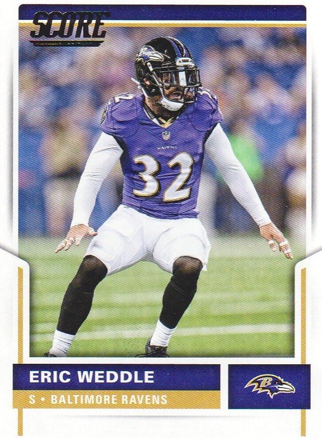 2017 Score Football #253 Eric Weddle Baltimore Ravens at Amazon's ...
