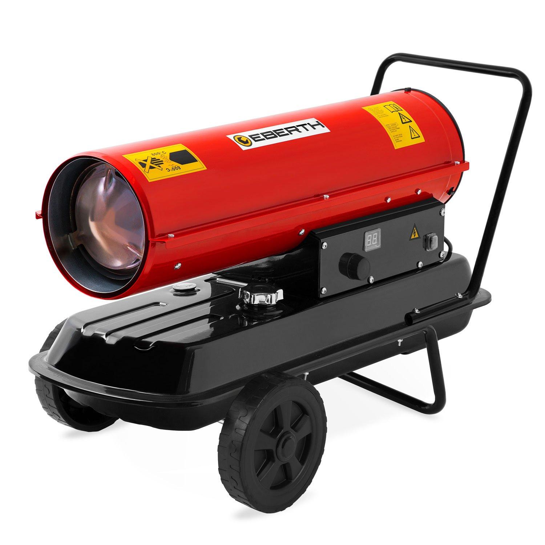 EBERTH 30 Kw Calefactor de gasoil Directo (Chasis, Protección contra sobrecalentamiento, Supresor de Llama electrónico, Termostato Integrado): Amazon.es: ...