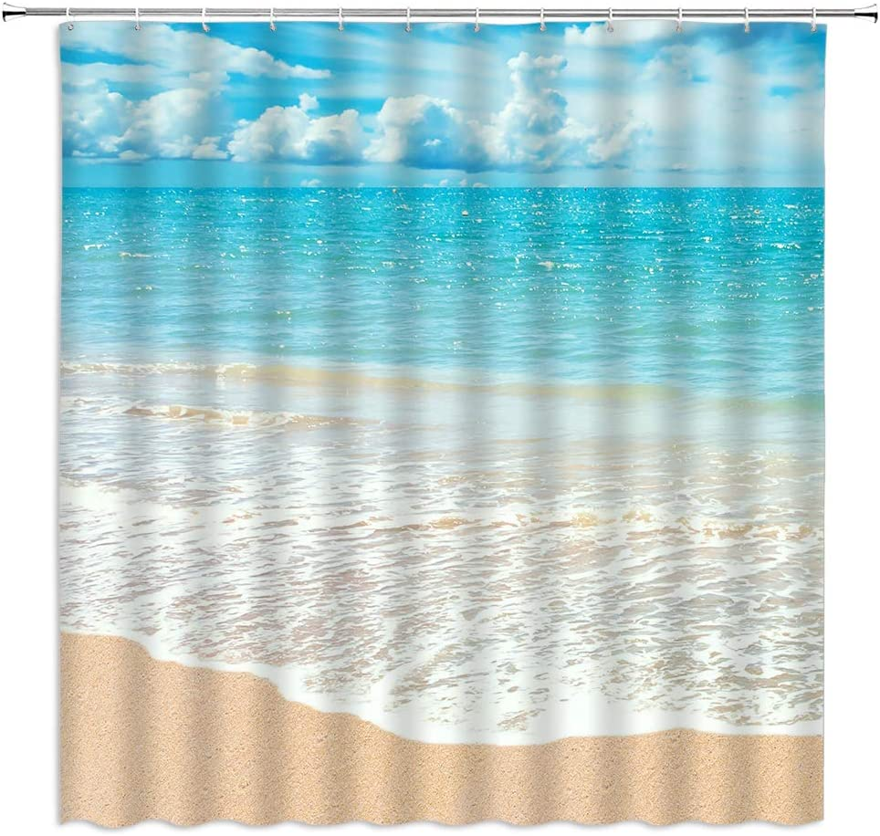 Details about  /Bookshelf Fantasy Landscape Snow Lake Boat Waterproof Fabric Shower Curtain Set