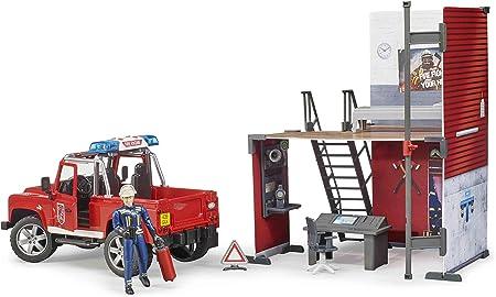 Kg Bruder Spielwaren Gmbh and Co Spielgebäude Toy NEU bworld Polizeistation