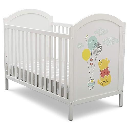 Disney Winnie The Pooh 4-in-1 Convertible Crib by Delta Children, White