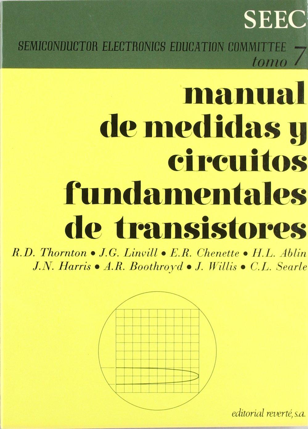 Manual De Medidas Y Circuitos Fundamentales De Transistores. PRECIO EN DOLARES.: S.E.E.C.: 9788429134476: Amazon.com: Books