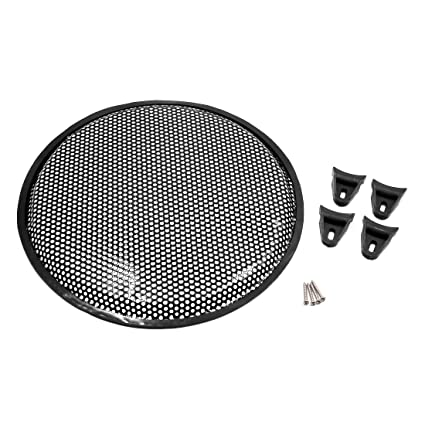 Uxcell a16060400ux0138 6.5 Vehicle Audio Speaker Mesh Sub Woofer Subwoofer Grill Dusty Cover Protection