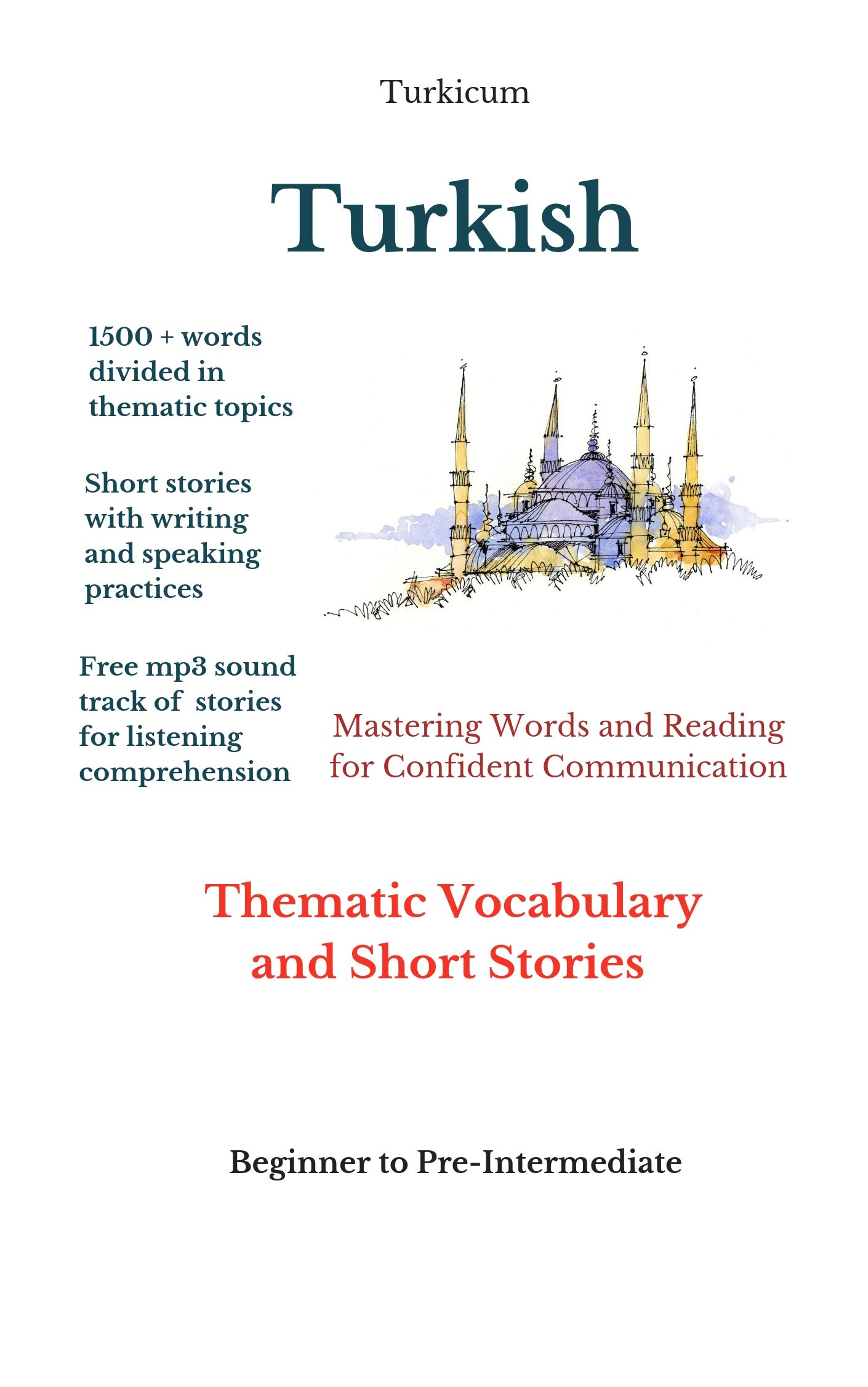 Turkish  Thematic Vocabulary And Short Stories  English Edition