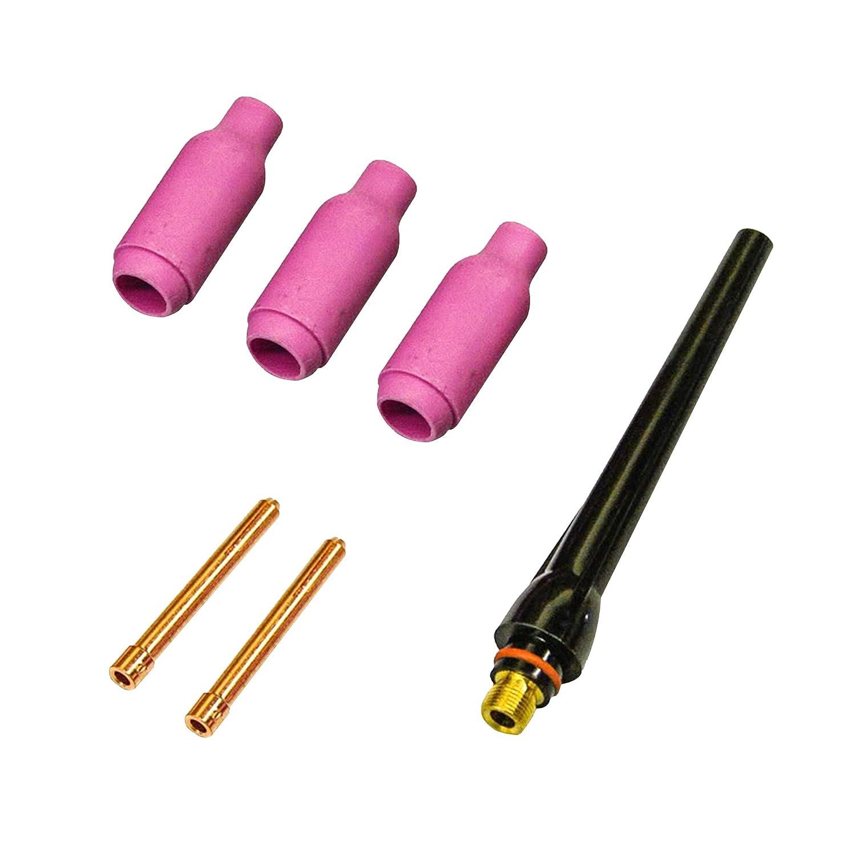Lotos LTPDC2000D Plasma cortador soldador TIG Stick 3 en 1 combo máquina de soldadura, 50 Amp táctil Piloto arco cortador de plasma, 200 A TIG/Stick ...